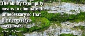 SIMPLIFY --